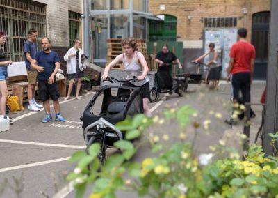 Stadttour Mobilität und Wasser: Jugendliche testen Lastenräder_2